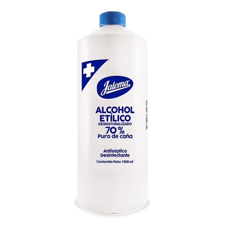 Alcohol etílico desnaturalizado jaloma