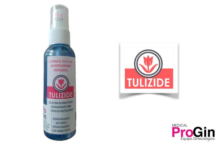 Tulizide desinfectante para cubrebocas reutilizables