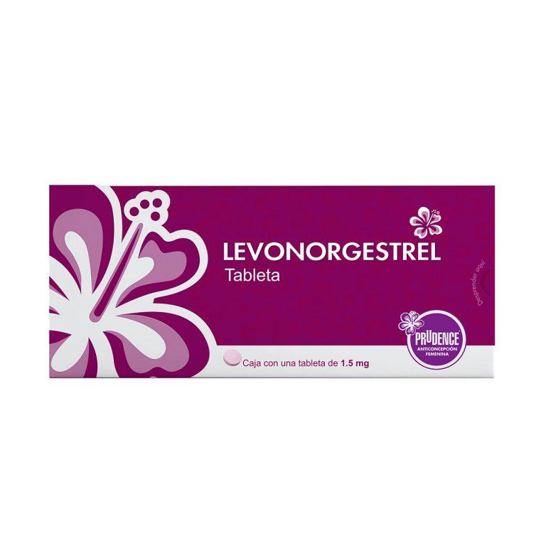 Pastilla anticonceptiva de emergencia Levonorgestrel