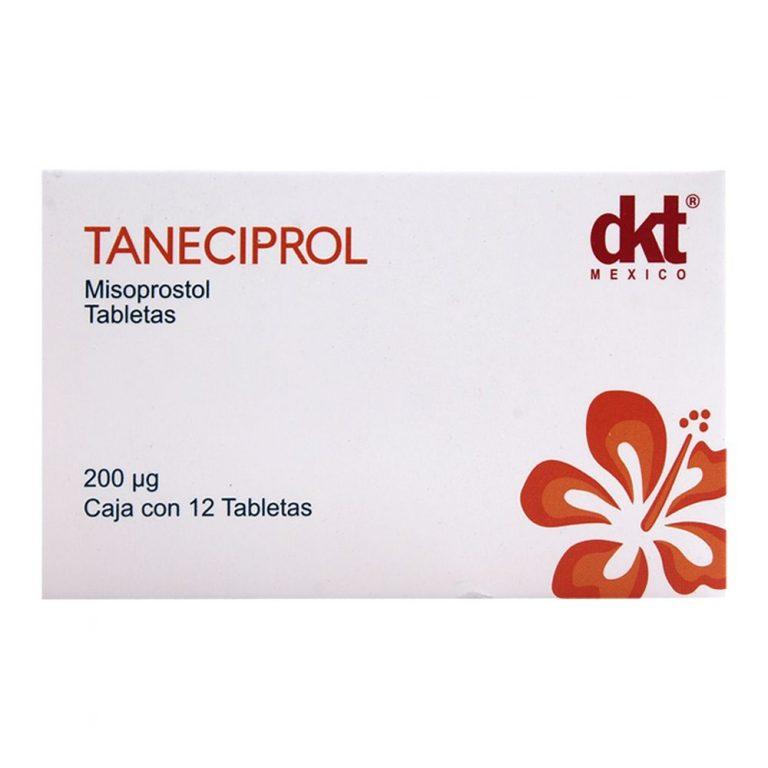 Taneciprol misoprostol