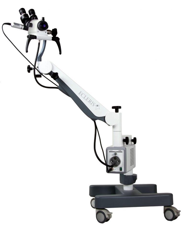Colposcópio de brazo pantográfico CI-100F Ecleris