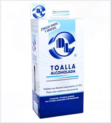 Toalla Alcoholada