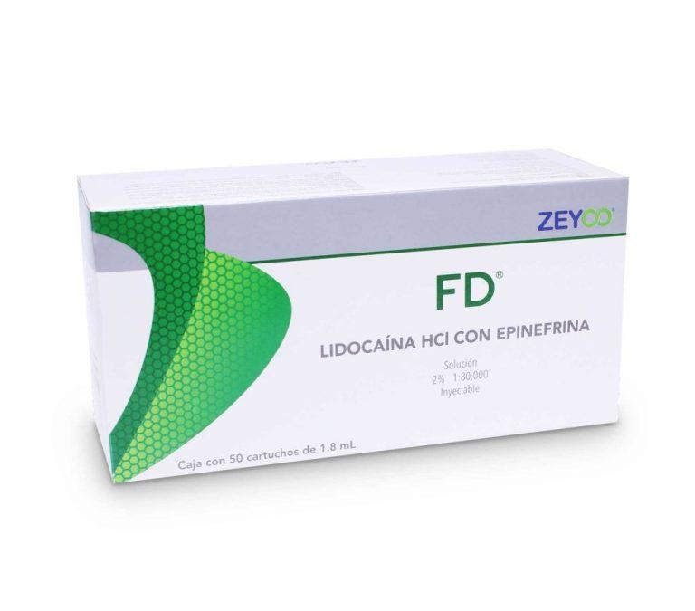 Anestésico inyectable FD – Zeyco